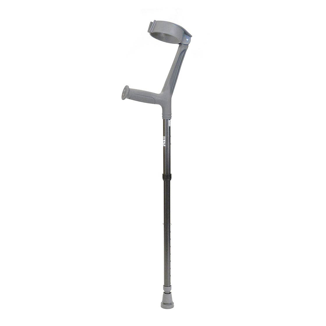 """Walk Easy adult forearm folding articulated crutches with 4"""" full cuff (pair)"""