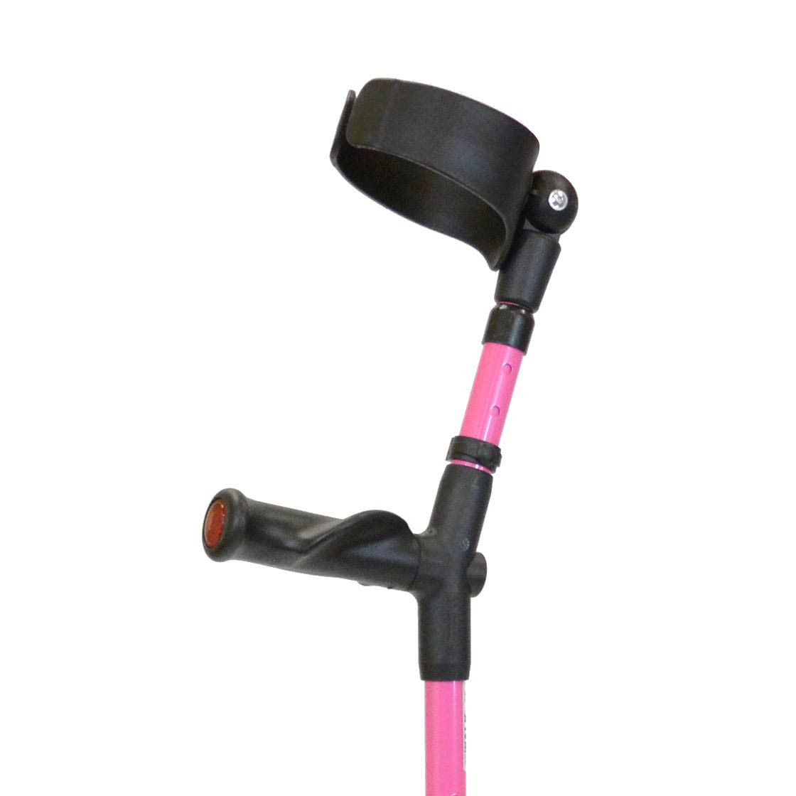 Walk Easy Adult Forearm Crutches With Adjustable 4 Inch Full Cuff