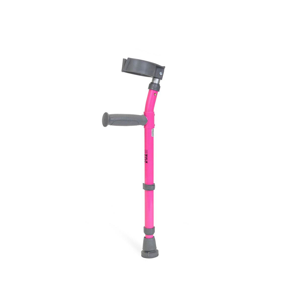 Walk Easy Toddler forearm height adjustable crutches with 3