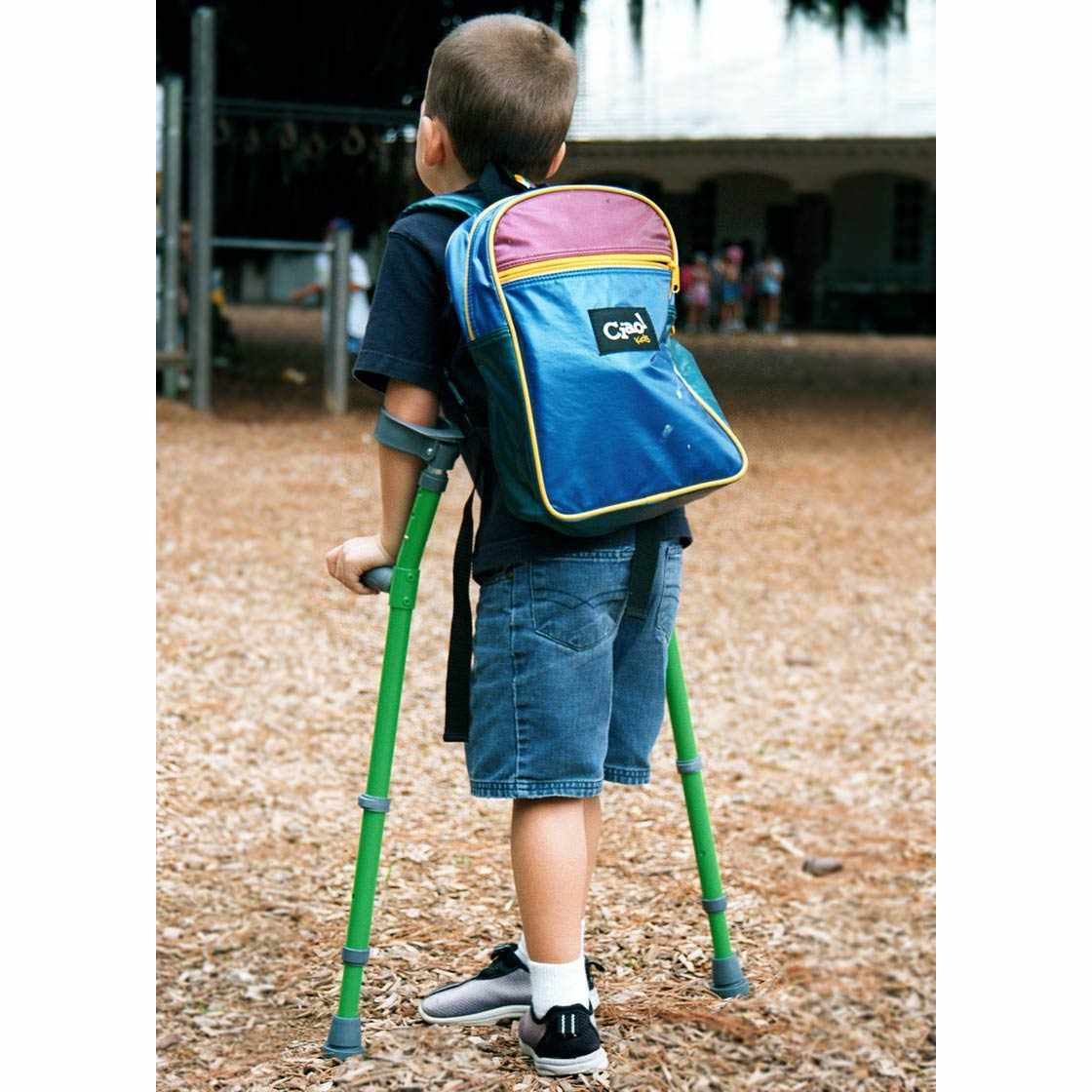 Walk Easy Pediatric Forearm Height Adjustable Crutches -Pair