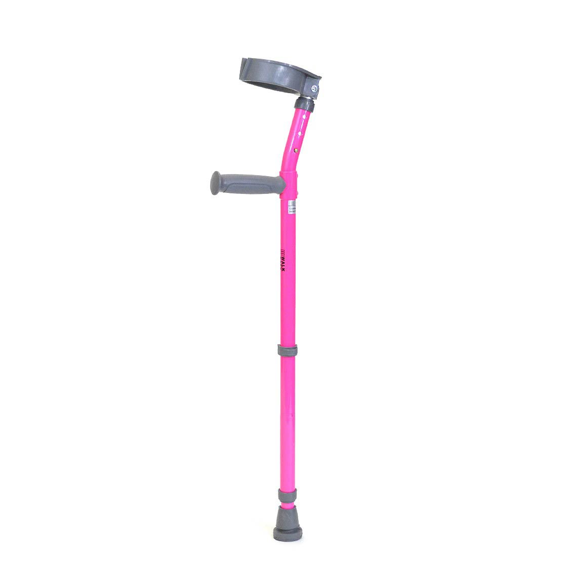 Walk Easy youth forearm height adjustable crutches with full cuff (pair)