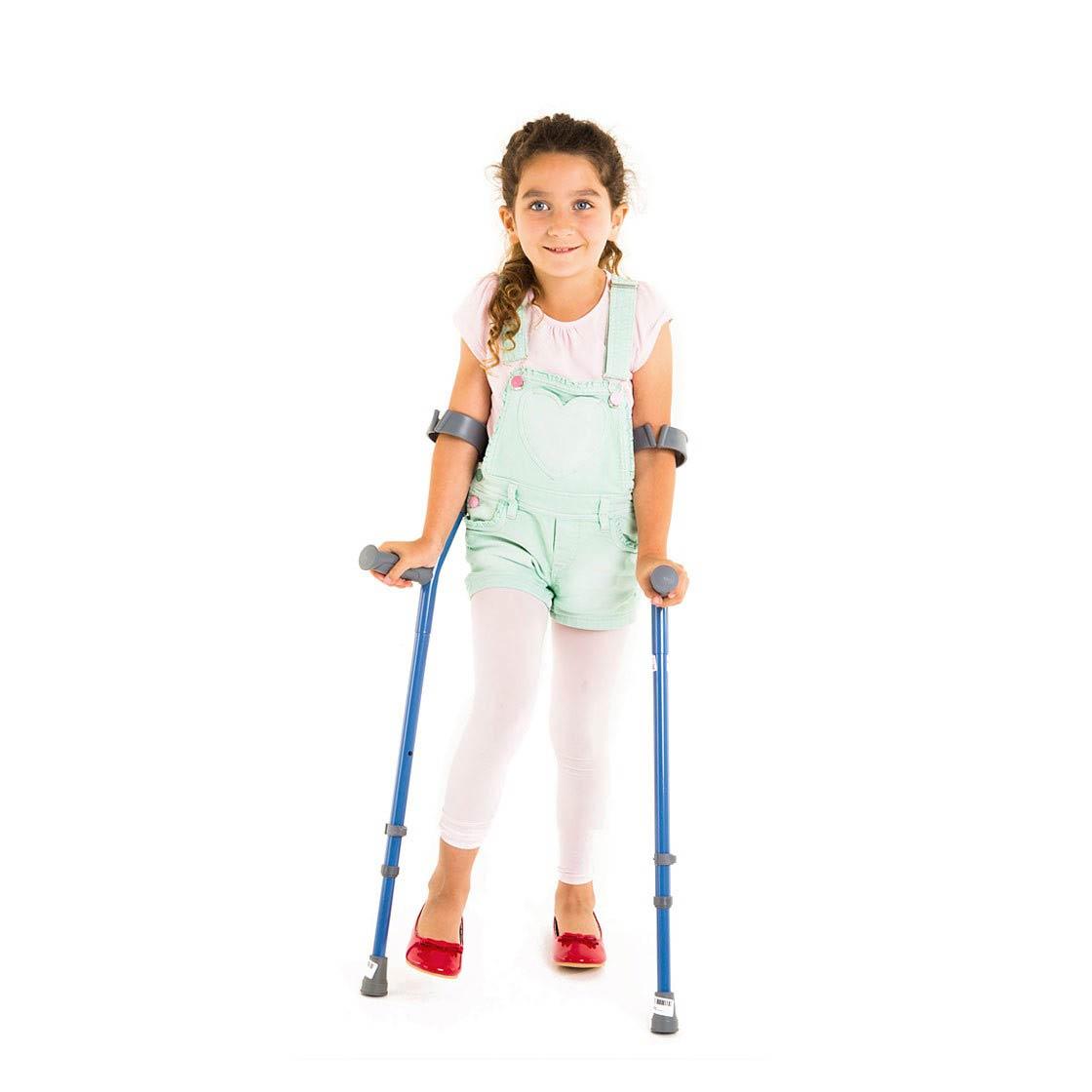 Walk Easy Youth Forearm Height Adjustable Crutches - Walk Easy
