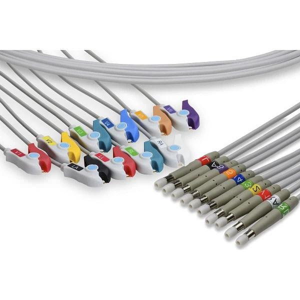 Welch Allyn Compatible EKG Leadwire