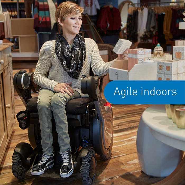 Model M Power wheelchair