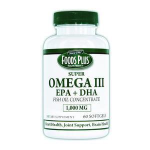 Windmill Health Products Omega III EPA Fish Oil 1000mg