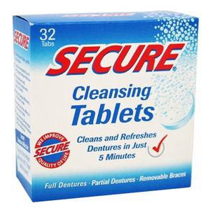 Windmill Secure Denture Cleansing Tablet