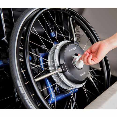 Yamaha NaviOne Wheelchair Power Assist System