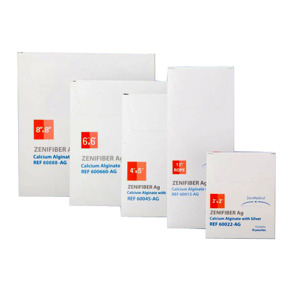 ZeniFiber Silver Alginate Wound Dressing